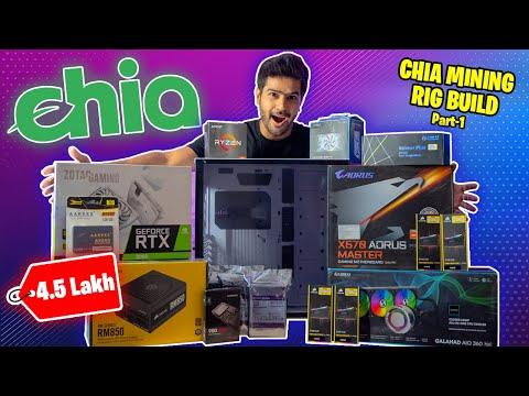 💰 ₹ 4.5 Lakh Chia Mining Rig Build 🍃 | Part 1|