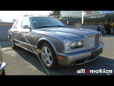 Bentley Arnage R V8 Silver Retro Clics 2016