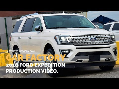 CAR FACTORY | Production Of 2018 Ford Expedition.