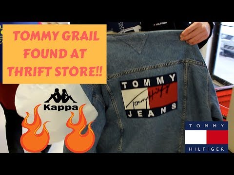 TRIP TO THE THRIFT #13   Tons of  Vintage Tommy Hilfiger, Kappa, Vintage T-shirts, Polo and more!!!