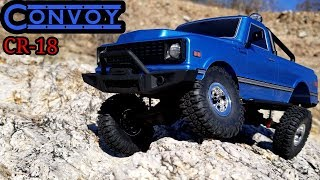 Hobby Plus 1/18 RC Trail Truck.