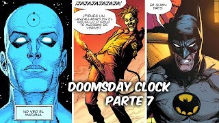 "BATMAN-SUPERMAN-JOKER ANTE EL DR. MANHATTAN ""DOOMSDAY CLOCK"" Parte 7 @SoyComicstj"