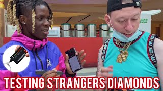 Testing Strangers Diamonds 😭💎 Atlanta Mall Edition 5 | Public Interview