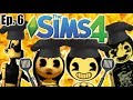 BENDY AND THE CHEESE CAFE The Sims 4 Bendy And The Ink Machine Ep 6 mp3