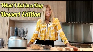 What I Eat in a Day: Lunch Edition | Devon Windsor | Healthy Peanut Butter Blondies
