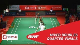 QF | XD | WATANABE/HIGASHINO (JPN) [1] vs SEO/CHAE (KOR) [6] | BWF 2019