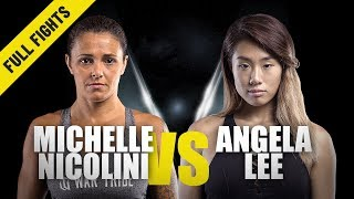 Michelle Nicolini vs. Angela Lee | ONE Full Fight | Strawweight Showdown | July 2019