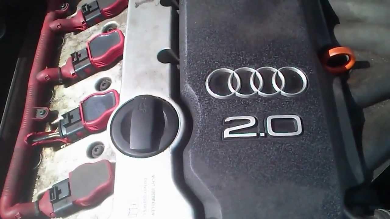 Audi A4 2 0 T >> Dziwny dzwiek silnika. AUDI A4 B6 2.0 benzyna - YouTube