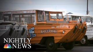 Nine Members Of Same Family Among The Dead After Missouri Duck Boat Capsizes | NBC Nightly News thumbnail