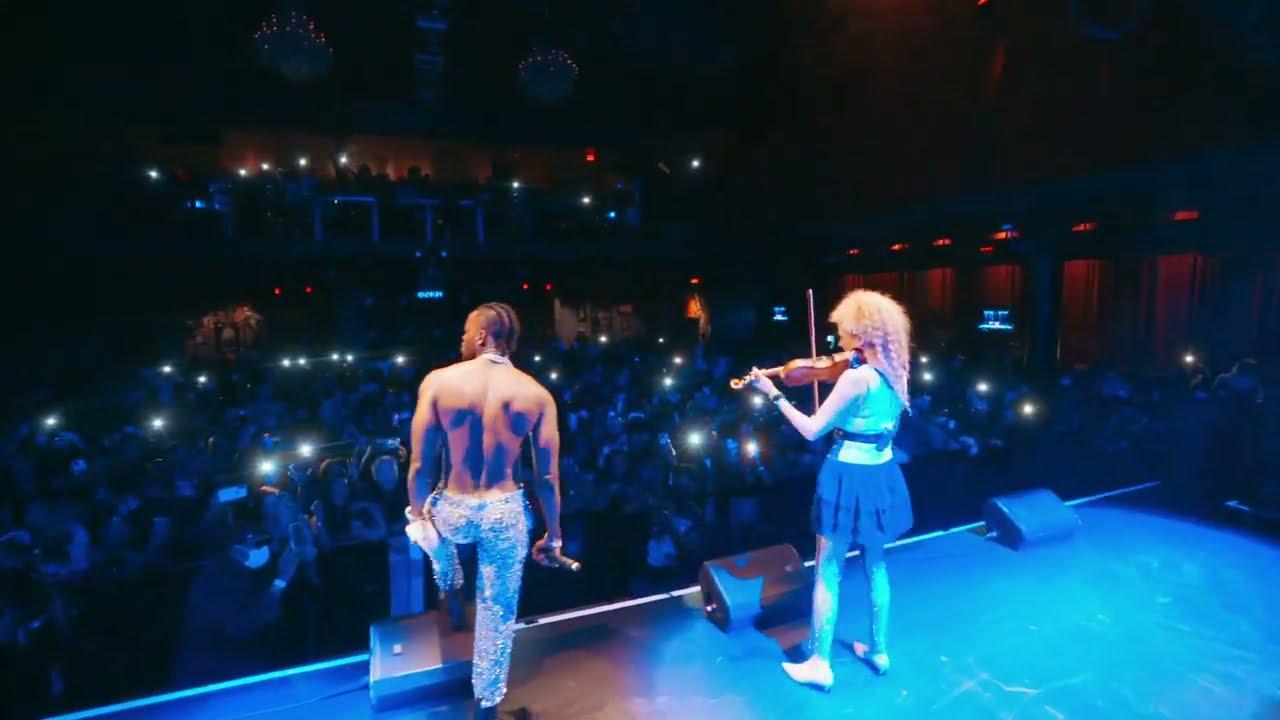 Diamond Platnumz - Baila Performance In WASHINGTON DMV (USA TOUR) with Miri Ben-Ari