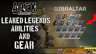 Apex Legends - NEW Datamine Leaks! 11 New Legends, New Character Abilities, Patch Notes & More!