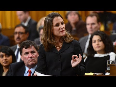 Chrystia Freeland's FULL Speech on Canada's foreign policy