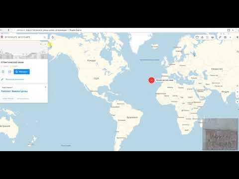 Как проходит нулевой меридиан на карте