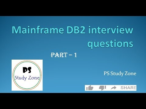 Mainframe DB2 very important interview questions (part 1) !!!!!