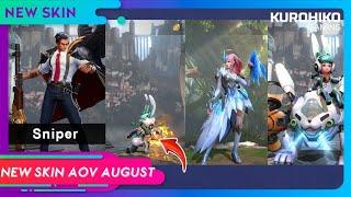 New Skin AOV August 2018 - Skin Baru AOV