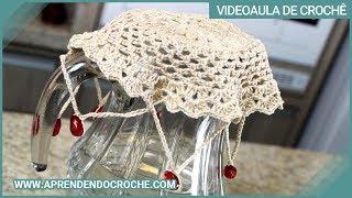 Repeat youtube video Cobre Jarra em Crochê - Aprendendo Crochê