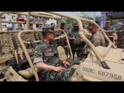 ROK Commandant Visit