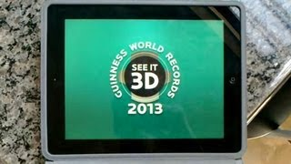 Realidade Aumentada - Guinness World Records 2013 / Augmented Reality on GWR 2013