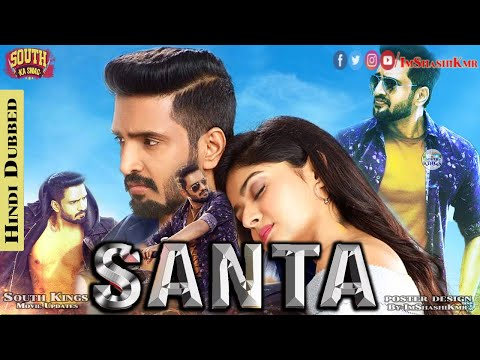 Sakka Podu Podu Raja (Santa) 2018 Hindi Dubbed Movie - Santa Movie In Hindi  | Santhanam