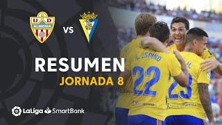 Resumen de UD Almería vs Cádiz CF (1-2)