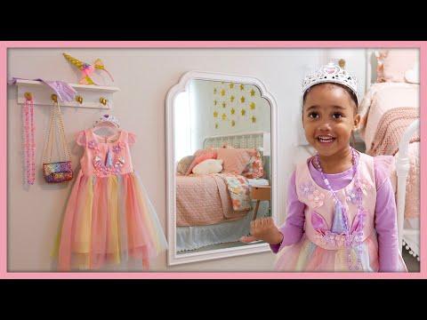 DIY Dress Up Area | Kids Room Decor | MOM VLOG