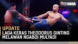 Darah Mengucur! 😭 Pertarungan Keras Theodorus Ginting vs Ngabdi Mulyadi || One Pride MMA