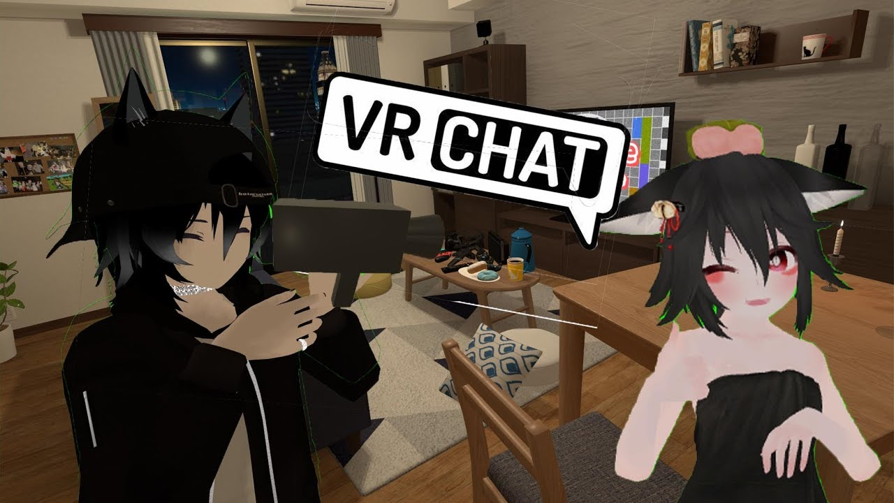 """FUN MOMENTS -VRCHAT- """"I AlMoSt DiEd WhIle PUtTinG on MaKEUp"""