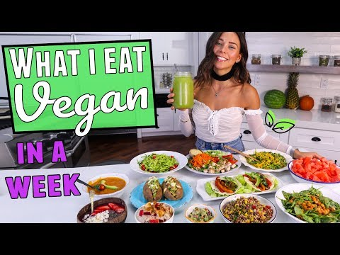 What I Eat in a Week! Vegan, Easy & Healthy Recipes