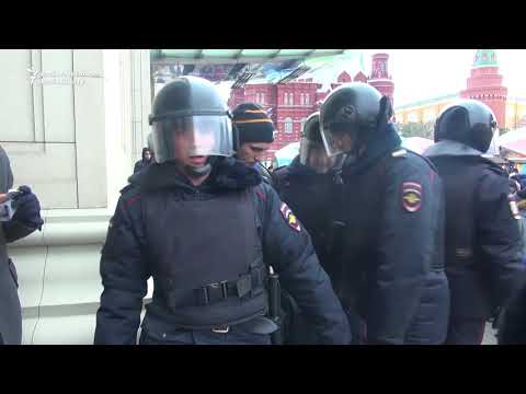 More Than 200 People Reportedly Detained After Anti-Government Protest in Moscow