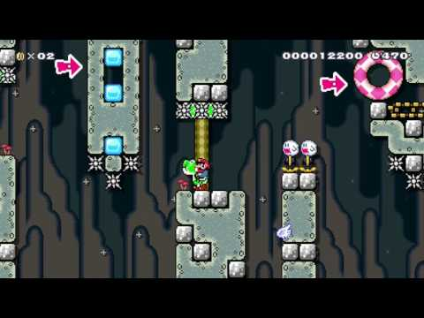 Manny's Test: Yoshi's Sacrifice - Beating Super Mario Maker's Super Expert Levels!