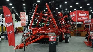 Kuhn Krause Exhibit at the 2016 National Farm Machinery Show