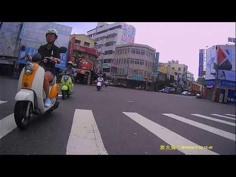 放大鏡【F7 平價版 雙鏡頭1080P WIFI機】白天(後鏡)車友實錄影片