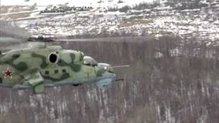 MI-35 Helicopter Promo Video