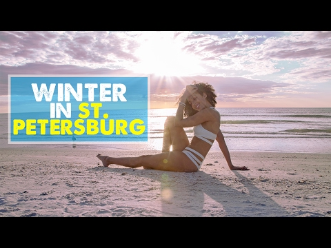 ST. PETERSBURG VLOG & TRAVEL GUIDE | Winter Escape to Florid