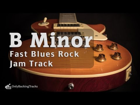 Fast Blues Backing Track (B Minor) 130 Bpm