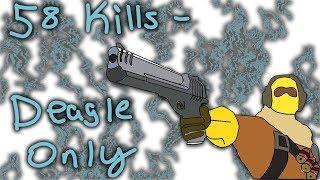58 Kills Desert Eagle ONLY - Strucid (Roblox)