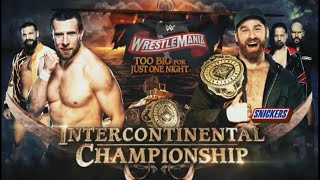 WWE WrestleMania 36 - Sami Zayn vs Daniel Bryan (Intercontinental Championship)