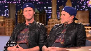 WILL FERRELL BEATS LOOK-ALIKE RED HOT CHILI PEPPERS CHAD SMITH IN DRUM OFF