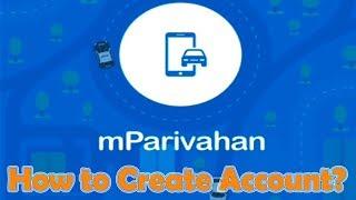 Wie Erstellen Sie ein Konto auf mParivahan app in Hindi | M Parivahan app pe-Konto kaise banaye