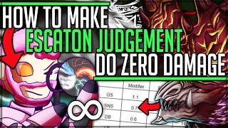 Alatreons Hidden Element - Make Escaton Judgement do Zero Damage - Monster Hunter World Iceborne!