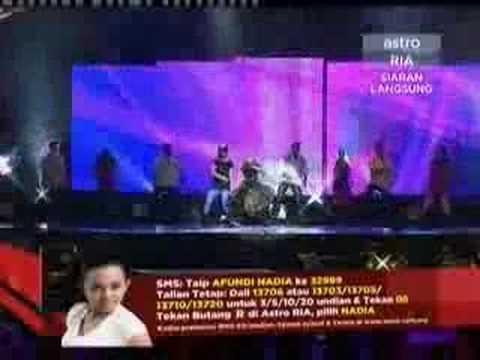 Aku Lebih Tahu - Nadia AF6 - Konsert Minggu 10
