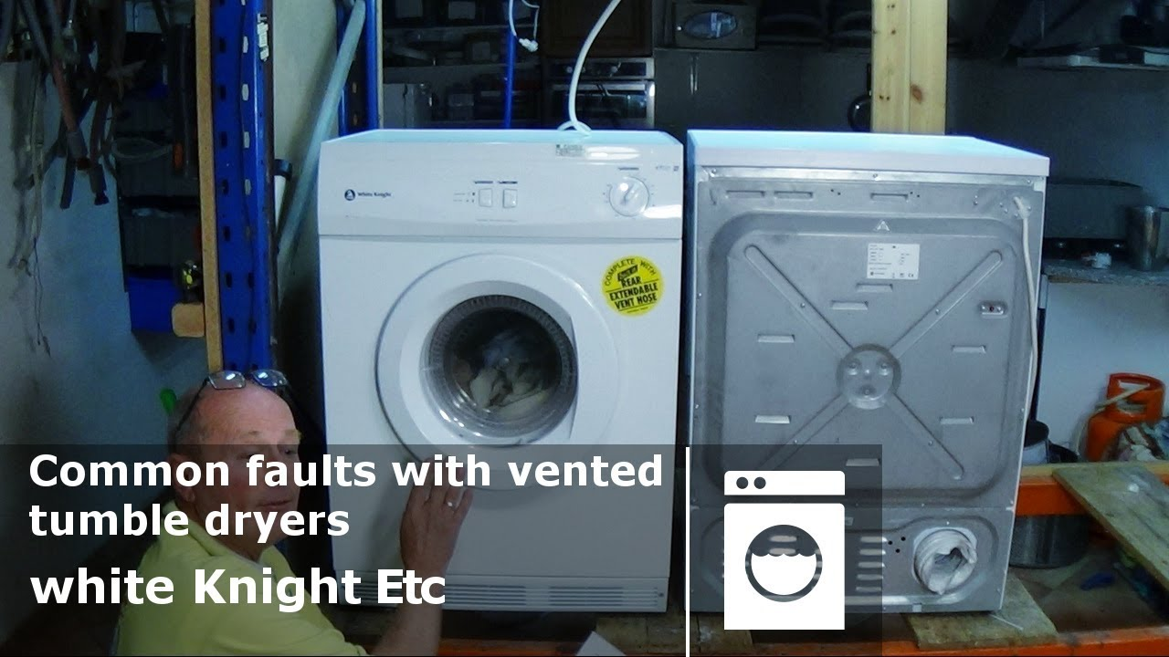 white knight tumble dryer heater element wiring diagram 2006 impala speaker common faults with vented dryers how to diagnose problems and repair