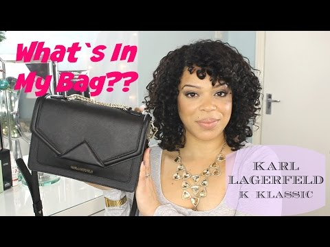 What`s In My Karl Lagerfeld K Klassic Bag??? Winter EDITION