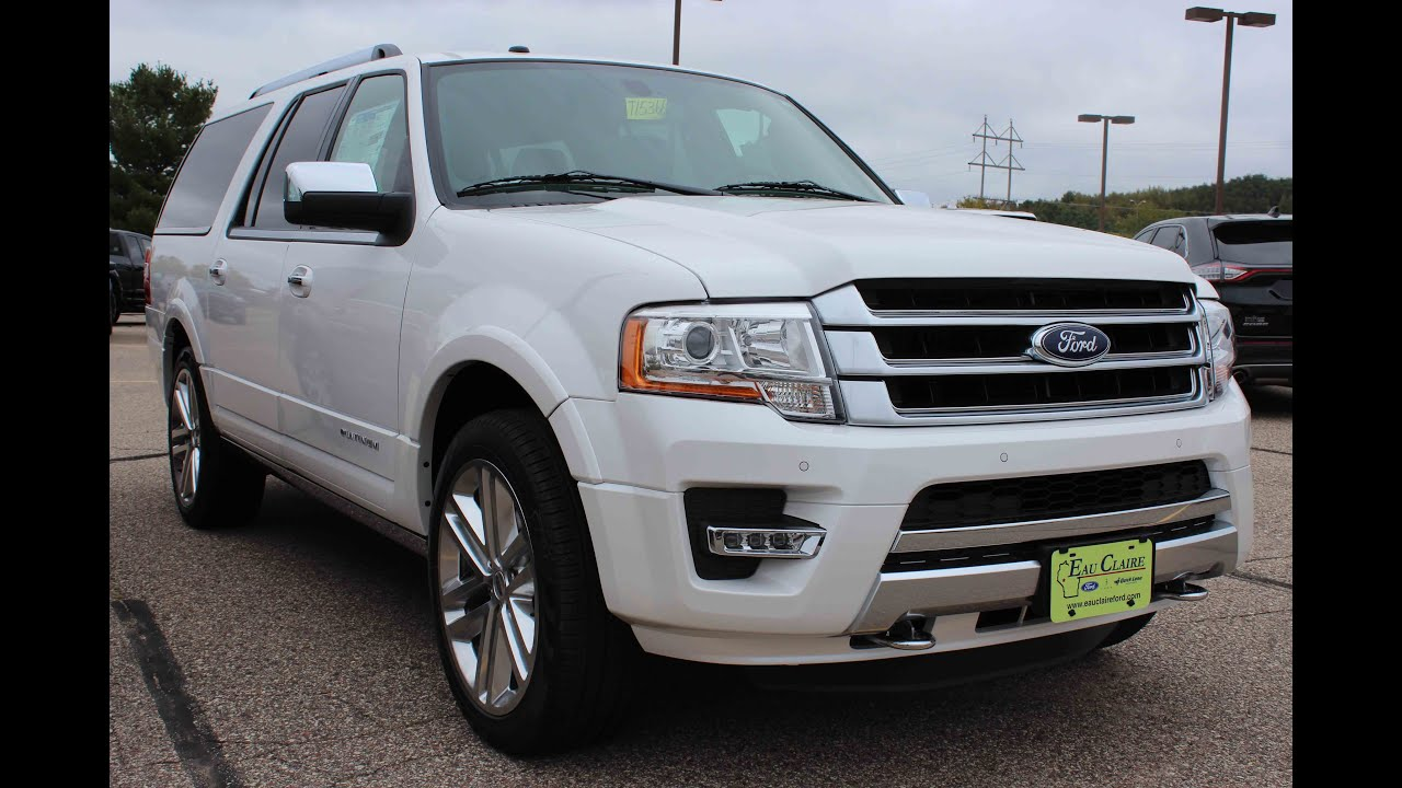2016 ford expedition el platinum youtube. Black Bedroom Furniture Sets. Home Design Ideas