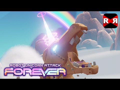 Robot Unicorn Attack 3 Forever (By [adult Swim]) - IOS / Android - Gameplay Video