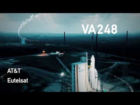 COMING SOON | Arianespace Flight VA248  T-16 / EUTELSAT 7C