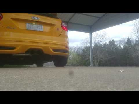 2013 Focus ST Cold Start with Launch Control