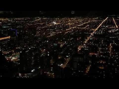 360 Chicago at night
