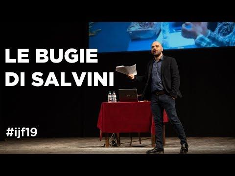 Da 'prima il Nord' a 'prima gli italiani'. Le bugie di Salvini - #ijf19