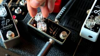 Xotic SL Drive effects pedal demo including internal DIP switches